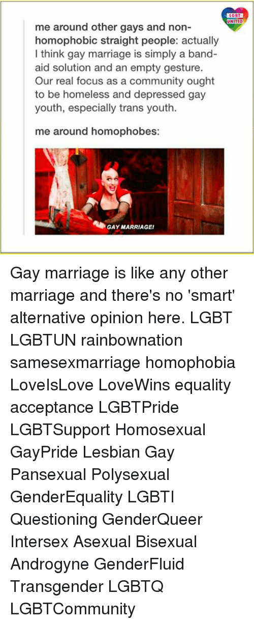 Lgbt asexual marriage