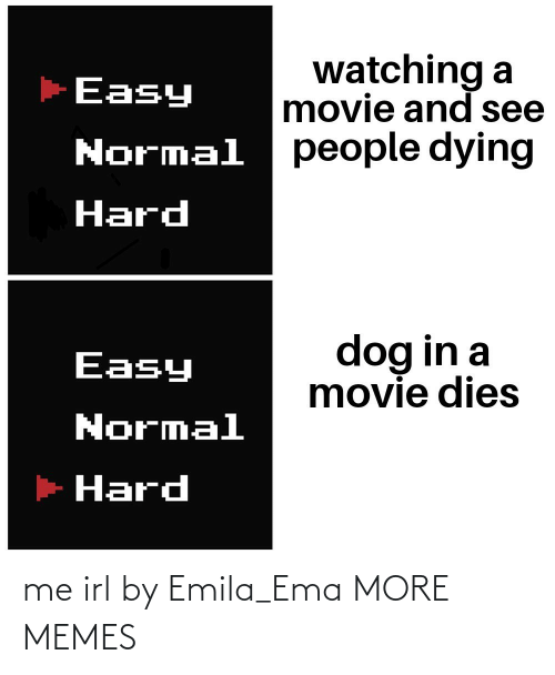 Me IRL: me irl by Emila_Ema MORE MEMES