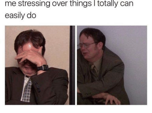 Humans of Tumblr, Can, and  Things: me stressing over things l totally can  easily do