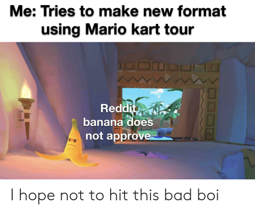 Me Tries To Make New Format Using Mario Kart Tour Reddit