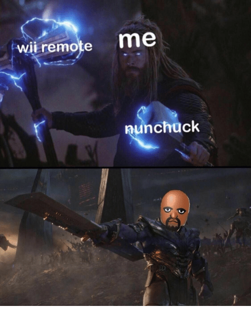 Wii, Remote, and Wii Remote: me  wii remote  aunchuck
