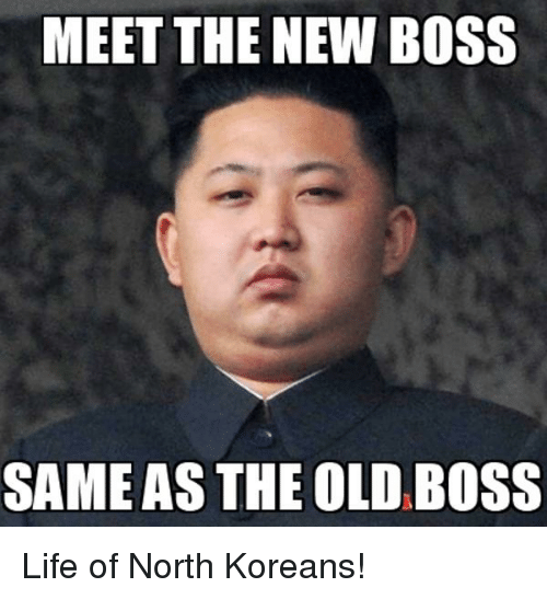 new specials genuine shoes los angeles MEET THE NEW BOSS SAME AS THE OLD BOSS | Funny Meme on ...