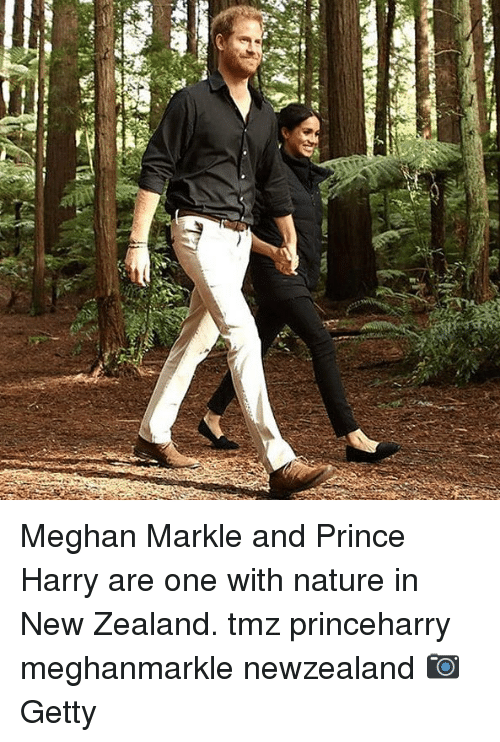 Prince Harry: Meghan Markle and Prince Harry are one with nature in New Zealand. tmz princeharry meghanmarkle newzealand 📷Getty