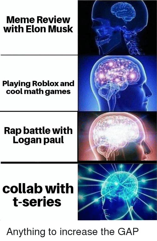 Meme Review With Elon Musk Playing Roblox and Cool Math Games Rap