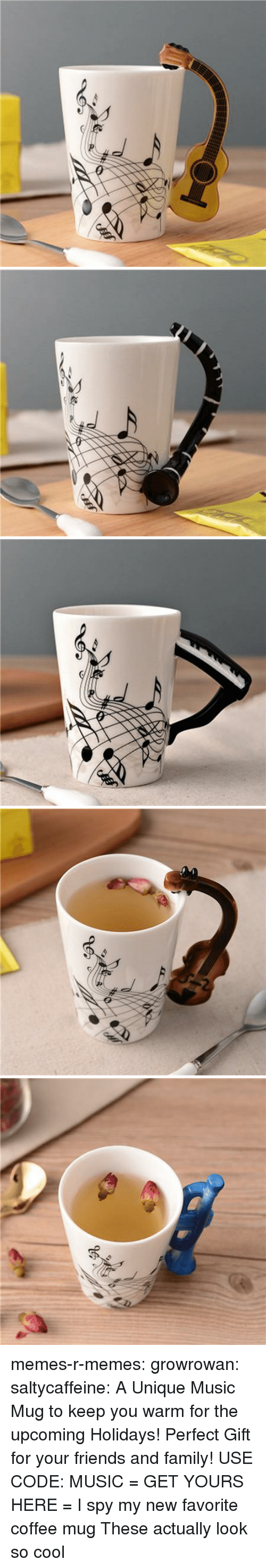 Coffee Mug: memes-r-memes:  growrowan:  saltycaffeine: A Unique Music Mug to keep you warm for the upcoming Holidays! Perfect Gift for your friends and family! USE CODE: MUSIC = GET YOURS HERE =   I spy my new favorite coffee mug  These actually look so cool
