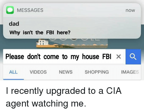 is the cia watching me now