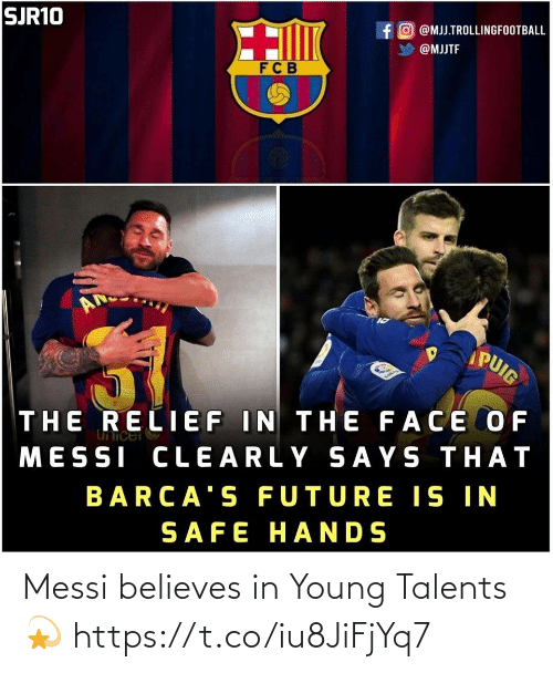 ballmemes.com: Messi believes in Young Talents💫 https://t.co/iu8JiFjYq7