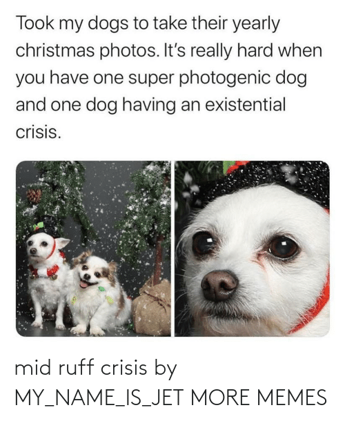 my name is: mid ruff crisis by MY_NAME_IS_JET MORE MEMES