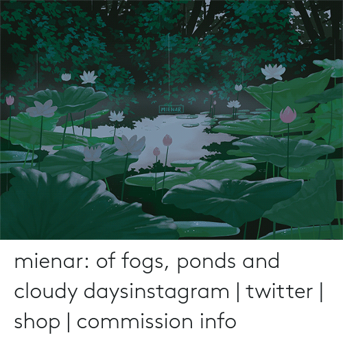 Info: mienar:  of fogs, ponds and cloudy daysinstagram | twitter | shop | commission info