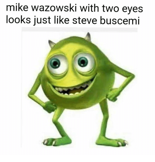 25 Best Memes About Mike Wazowski With Two Eyes Mike