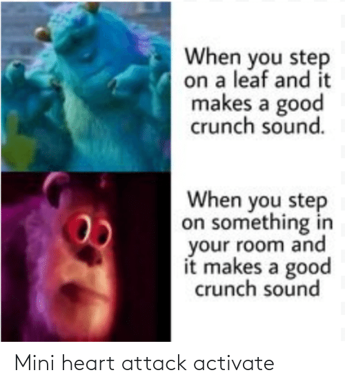 attack: Mini heart attack activate