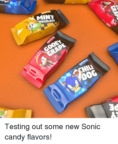 Candy, Dank, and Chocolate: MINT  CHOCOLATE  HILI  0o0 Testing out some new Sonic candy flavors!