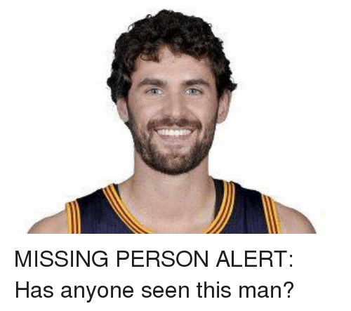 Missing Person: MISSING PERSON ALERT: Has anyone seen this man?