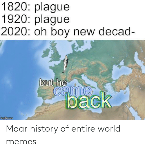History: Moar history of entire world memes