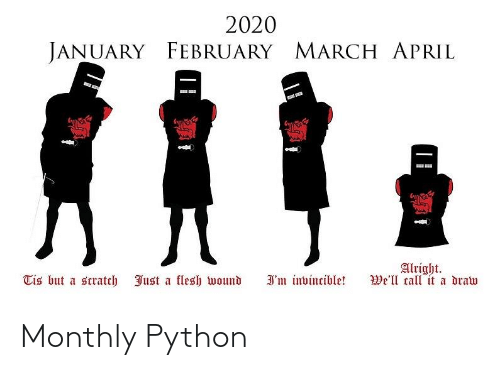 Monthly: Monthly Python