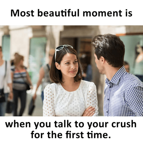 Images - How to get your crush to talk to you first