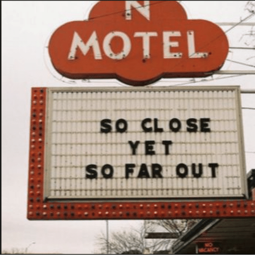 Far Out: MOTEL  SO FAR OUT