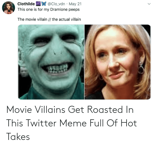 roasted: Movie Villains Get Roasted In This Twitter Meme Full Of Hot Takes