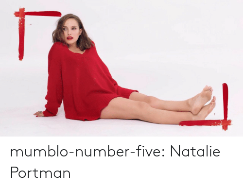 five: mumblo-number-five:  Natalie Portman