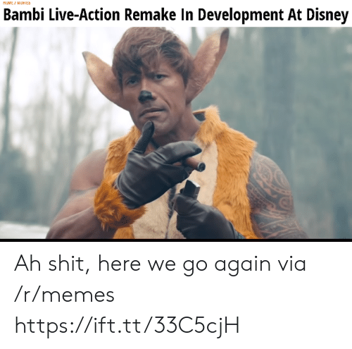 Remake: MUMEI MUYICS  Bambi Live-Action Remake In Development At Disney Ah shit, here we go again via /r/memes https://ift.tt/33C5cjH