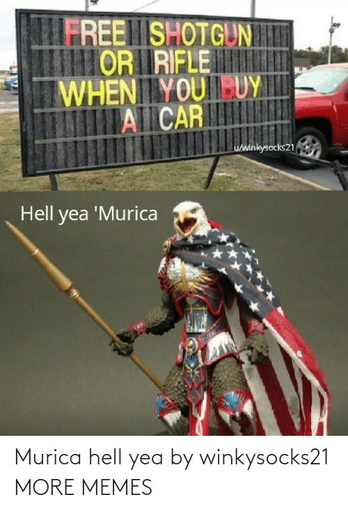 murica: Murica hell yea by winkysocks21 MORE MEMES