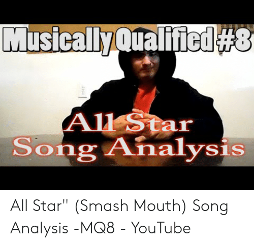 🅱️ 25+ Best Memes About All Star Song Meme | All Star Song