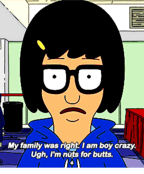 Crazy, Family, and Boy: My family was right I am boy crazy.  Ugh, I'm nuts for butts.