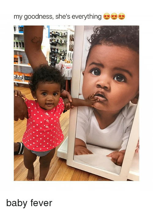 Feveral: my goodness, she's everything baby fever