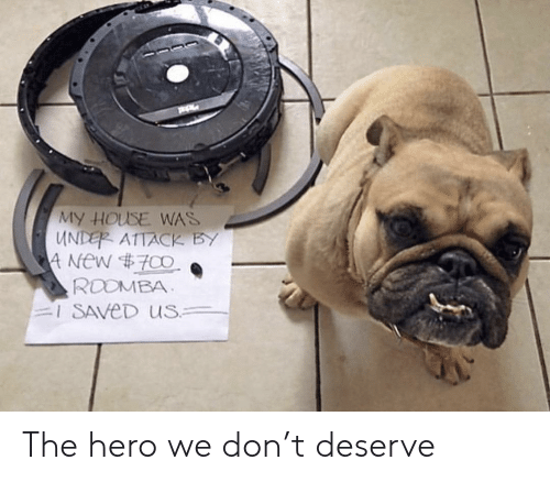 Roomba: MY HOUSE WAS  UNDER ATTACK BY  4 New #700  ROOMBA  I SAVED US The hero we don't deserve