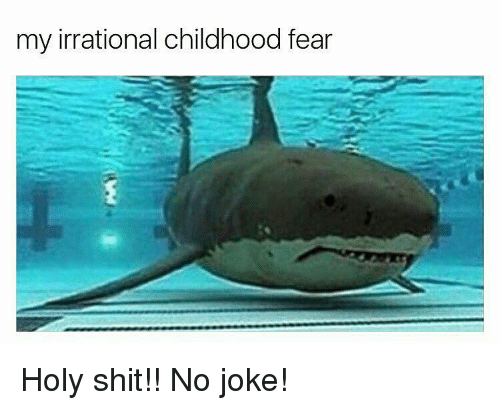 Holi Shit: my irrational childhood fear Holy shit!! No joke!