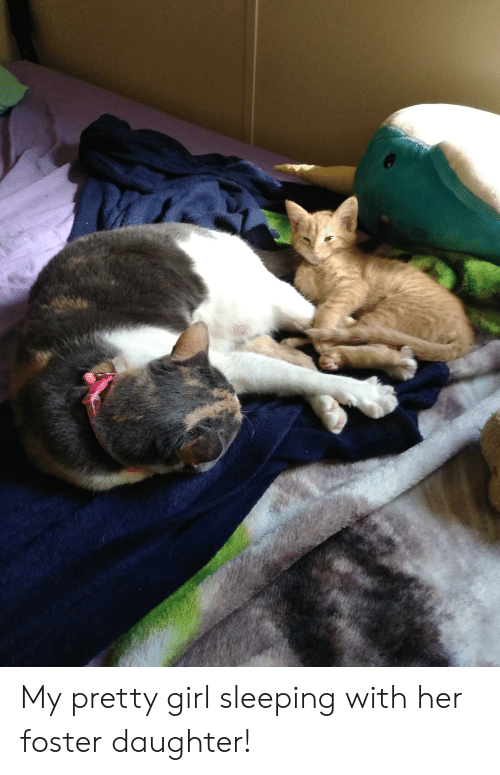 Girl, Sleeping, and Her: My pretty girl sleeping with her foster daughter!