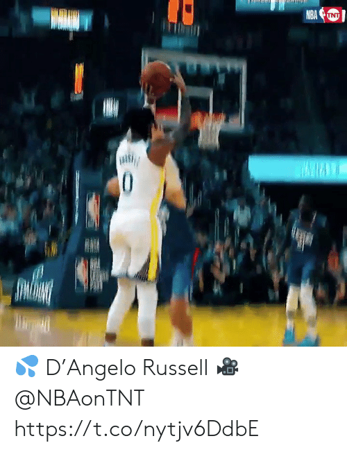 Russell: NBA  INT  0 💦 D'Angelo Russell 🎥 @NBAonTNT    https://t.co/nytjv6DdbE