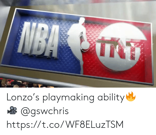 Memes, Nba, and Ability: NBA Lonzo's playmaking ability🔥  🎥 @gswchris  https://t.co/WF8ELuzTSM