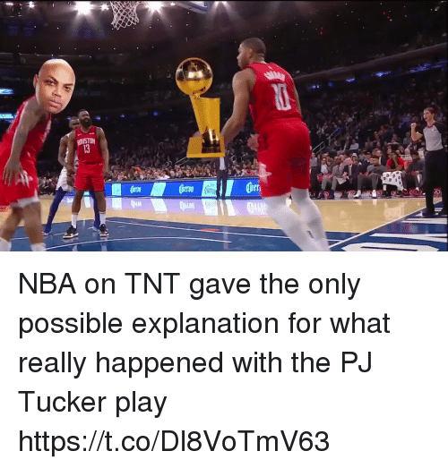 What Really Happened: NBA on TNT gave the only possible explanation for what really happened with the PJ Tucker play https://t.co/Dl8VoTmV63