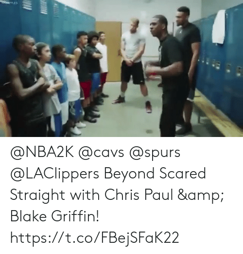 Spurs: @NBA2K @cavs @spurs @LAClippers Beyond Scared Straight with Chris Paul & Blake Griffin!    https://t.co/FBejSFaK22