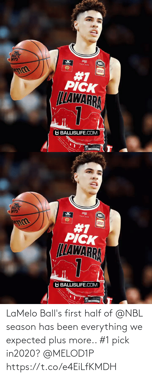 Hungry: NBI  FIRST EVER  HUNGRY  JACKS  #1  PICK  LLAWARRA  G BALLISLIFE.COM   NBL  FIRST EVER  HUNGRY  JACKS  #1  PICK  LLAWARRA  G BALLISLIFE.COM LaMelo Ball's first half of @NBL season has been everything we expected plus more.. #1 pick in2020? @MELOD1P https://t.co/e4EiLfKMDH