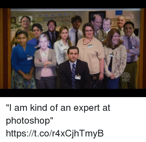 "nec: NEC ""I am kind of an expert at photoshop"" https://t.co/r4xCjhTmyB"