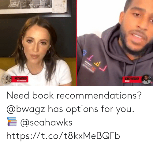 For You: Need book recommendations?  @bwagz has options for you. 📚 @seahawks https://t.co/t8kxMeBQFb