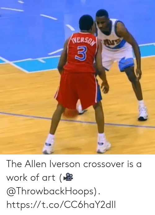 allen: NERSON  3 The Allen Iverson crossover is a work of art  (🎥 @ThrowbackHoops).  https://t.co/CC6haY2dIl