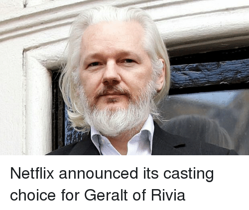 Netflix Announced Its Casting Choice For Geralt Of Rivia