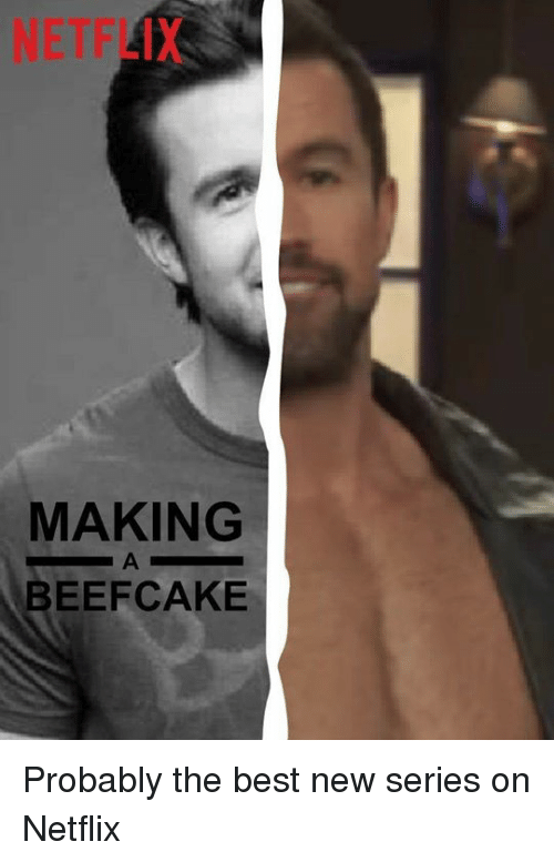 Memes, Netflix, and Best: NETFLIX  MAKING  BEEFCAKE Probably the best new series on Netflix