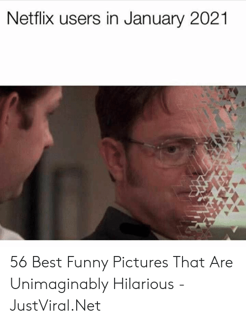 funny pictures: Netflix users in January 2021 56 Best Funny Pictures That Are Unimaginably Hilarious - JustViral.Net