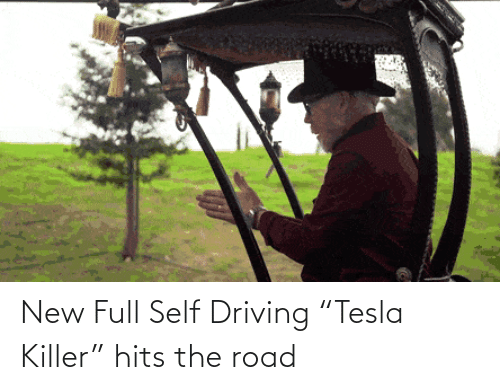 "Driving: New Full Self Driving ""Tesla Killer"" hits the road"