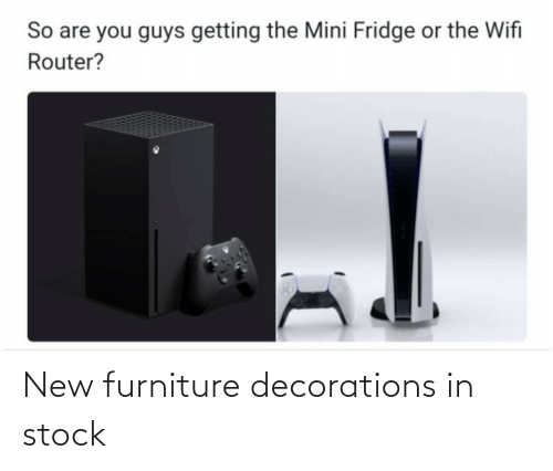 decorations: New furniture decorations in stock