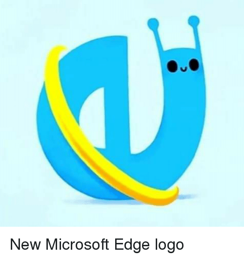 Microsoft, Logo, and Edge: New Microsoft Edge logo