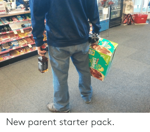 Starter Pack, New, and Starter: New parent starter pack.