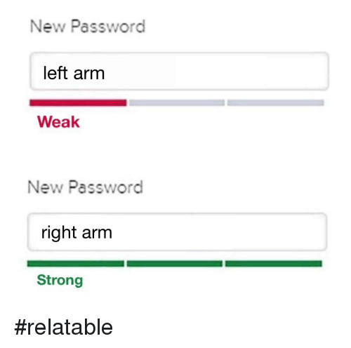 new password meme