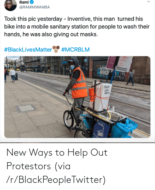 R Blackpeopletwitter: New Ways to Help Out Protestors (via /r/BlackPeopleTwitter)