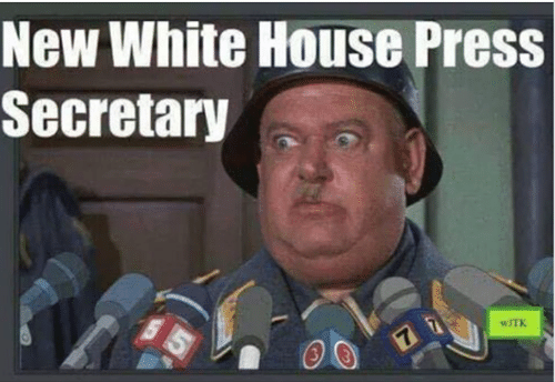 White House: New White House Press  Secretary  WITK  7