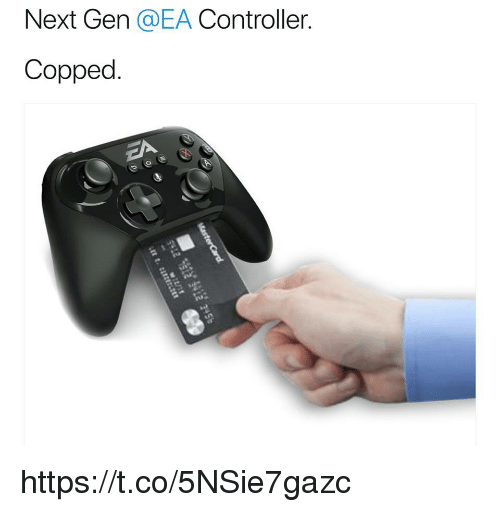 Copped: Next Gen QEA Controller  Copped. https://t.co/5NSie7gazc